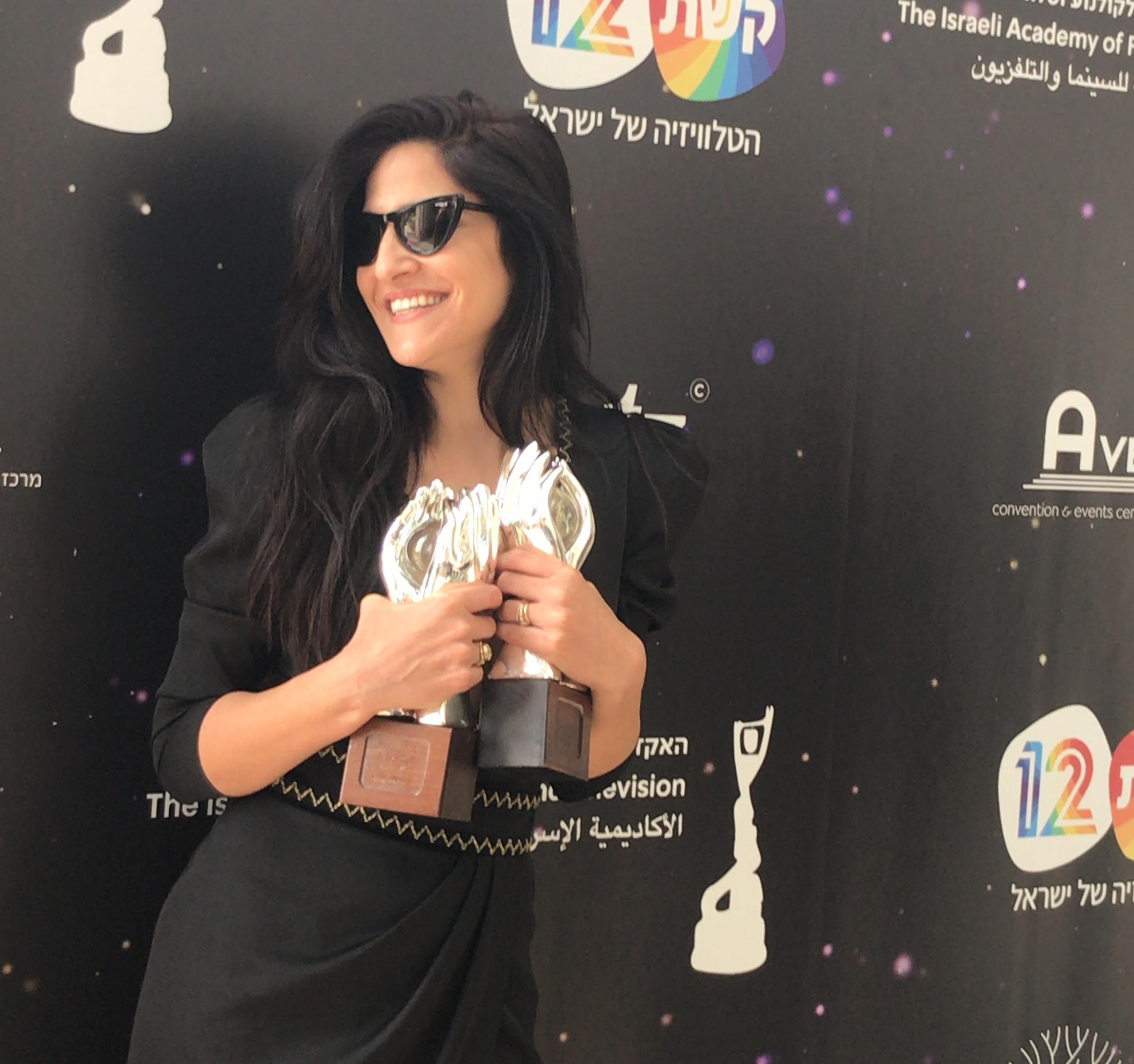 מגי אזרזר בטקס פרסי האקדמיה