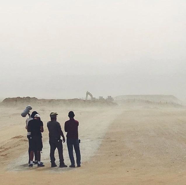 בתולות 3 צילומים במדבר