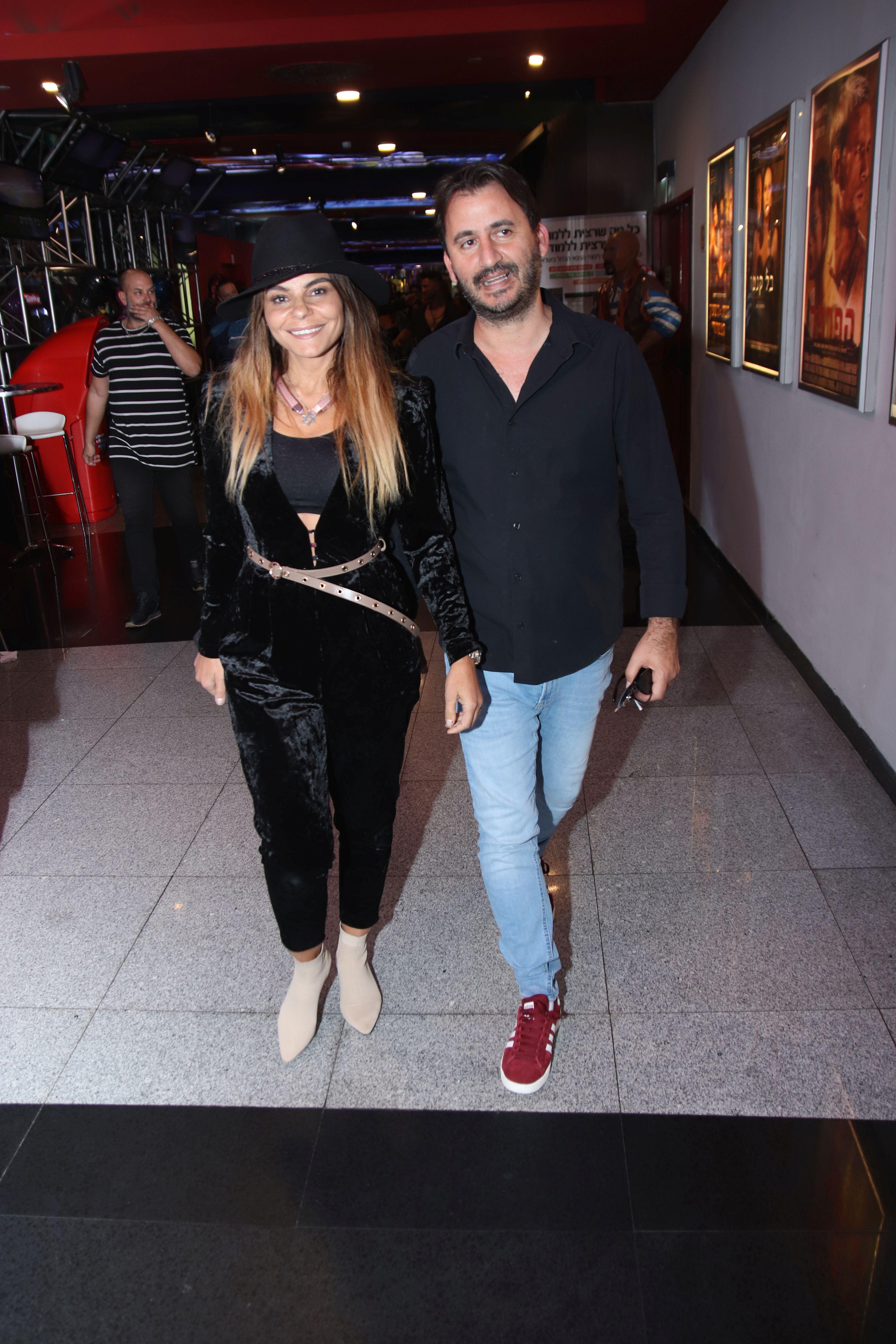 רינת גבאי ובעלה דורון מור