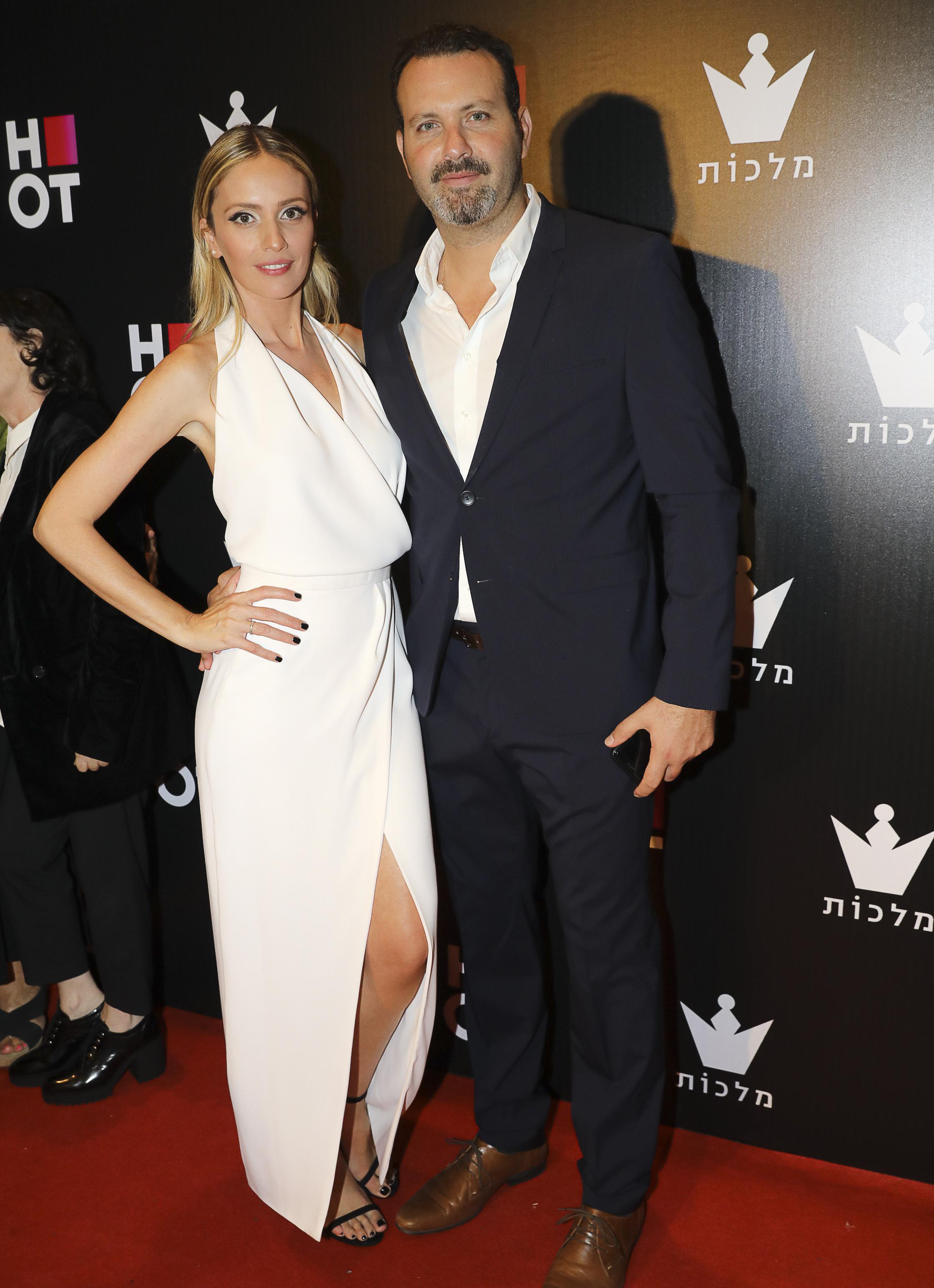 מלי לוי ובעלה