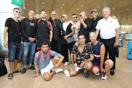 נבחרת האולסטאר של גולסטאר בדרך לברזיל