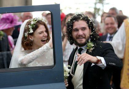 מזל טוב! כוכבי משחקי הכס התחתנו